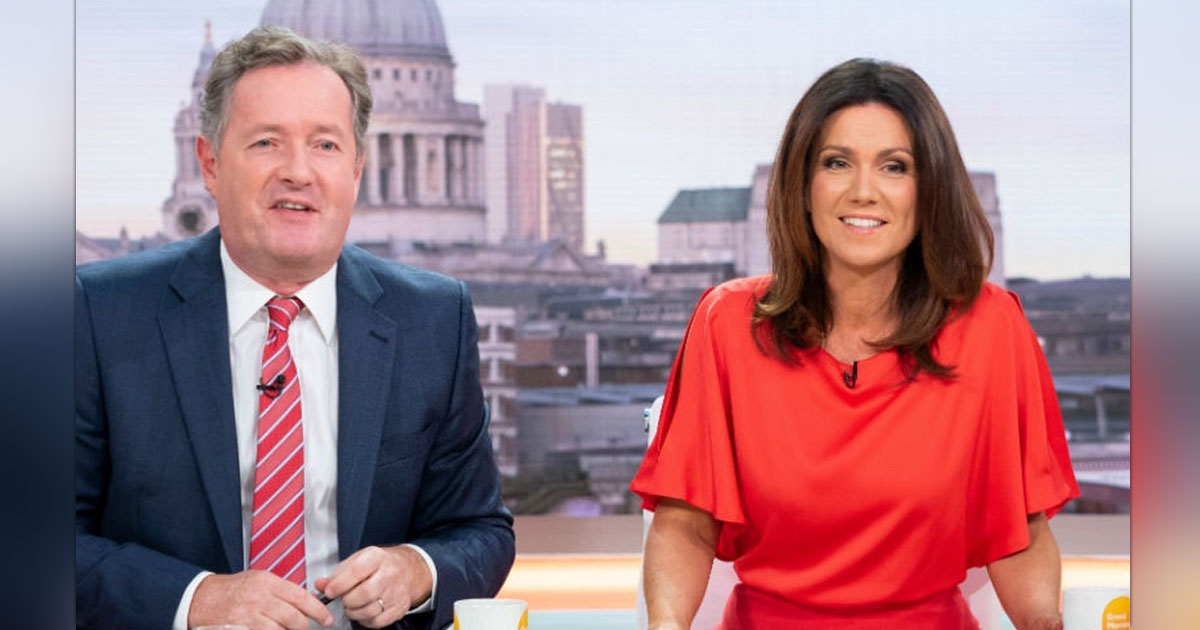 PIERS MORGAN'S GOOD MORNING BRITAIN CO-HOST INSISTS 'SHOWS GO ON' AFTER HIS SHOCKING EXIT