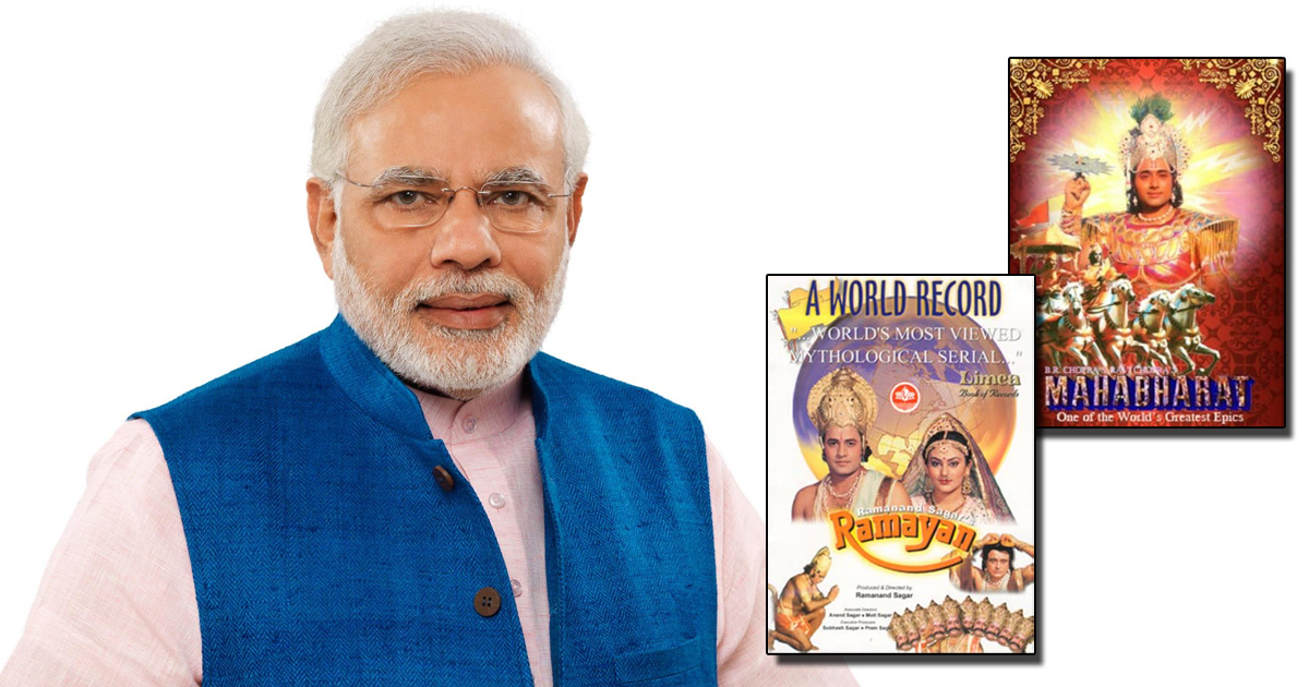 Not Covid But It Was Narendra Modi, Ramayana & Mahabharat Wave In 2020 – See Detailed BARC Report