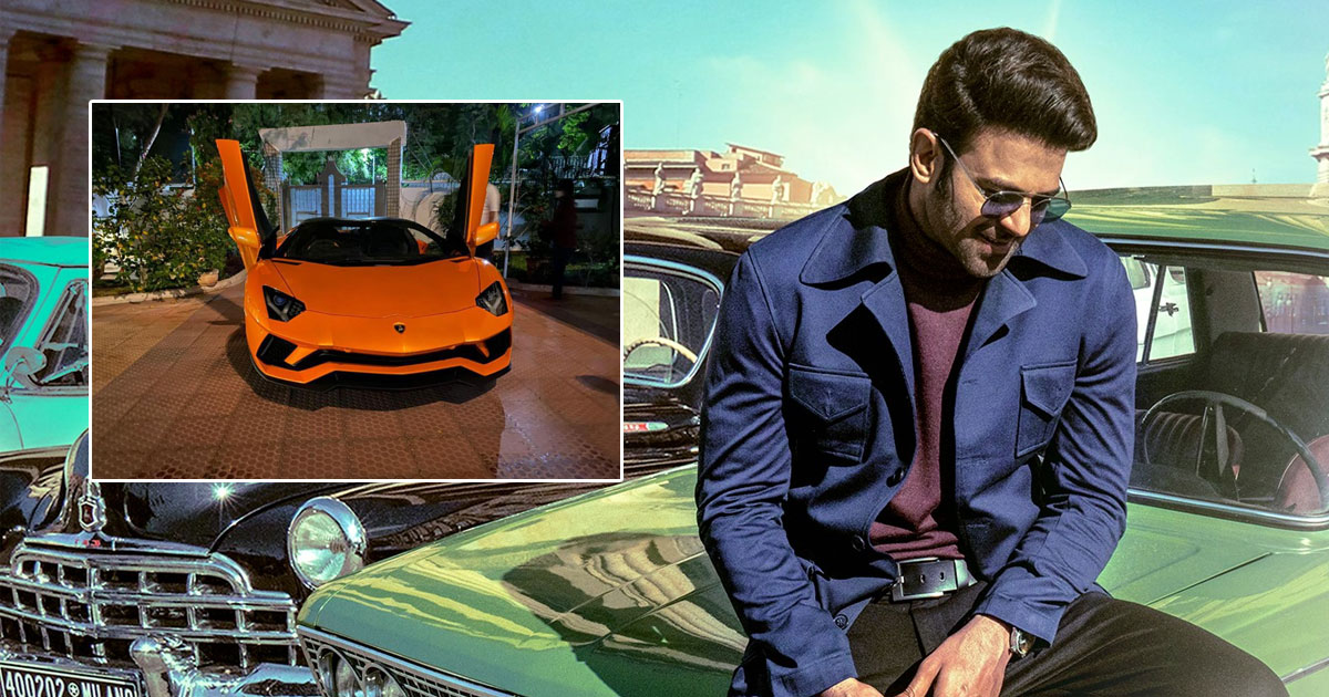Prabhas' Fans Estattic After He Purchases A New Swank Car Lamborghini Aventador For Rs 6 Crore
