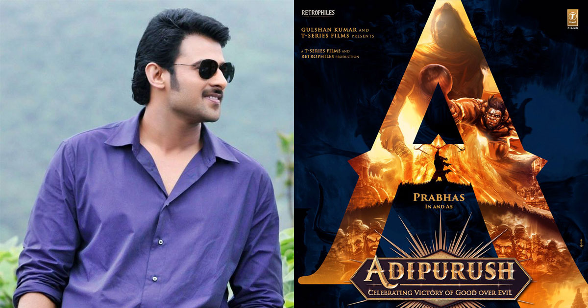 Prabhas' First Look As Ram From Adipurush To Be Out On This Day?