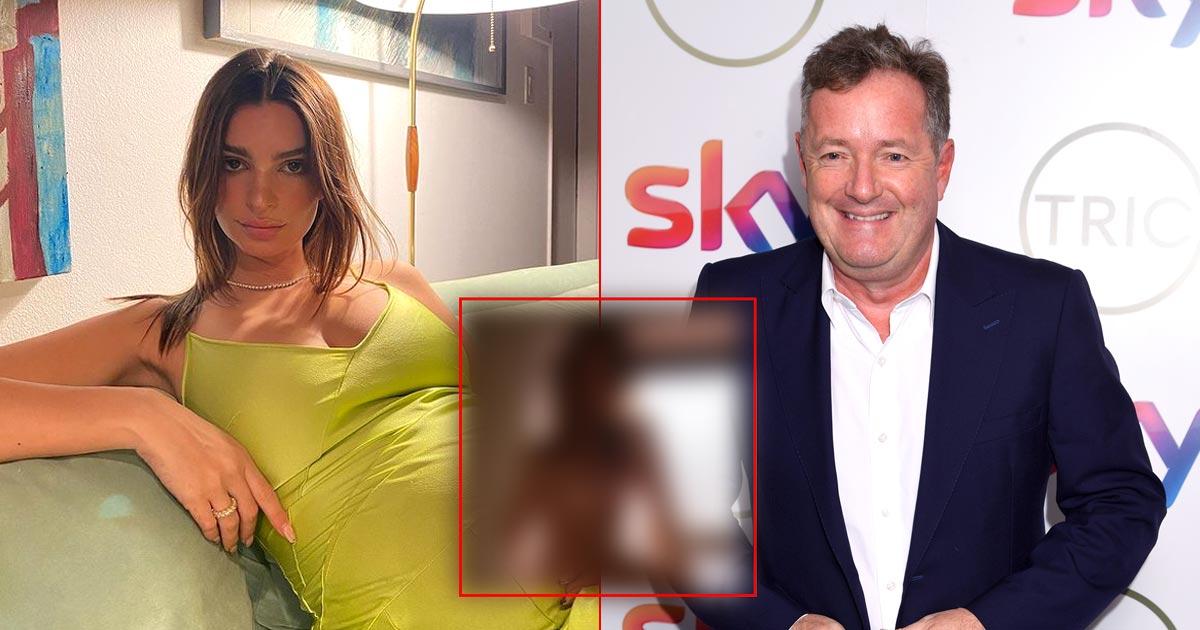 Pregnant Emily Ratajkowski's 'completely naked' shoot angers Piers Morgan