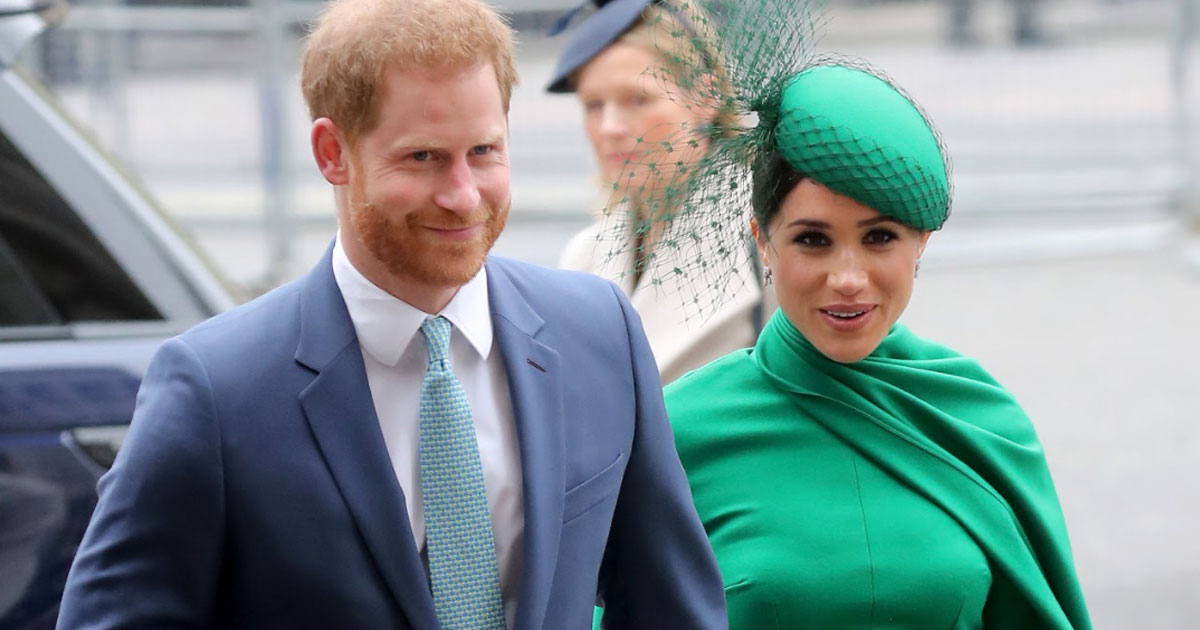PRINCE HARRY AND MEGHAN SLAM U.K. TABLOID'S 'PREDATORY PRACTICES'