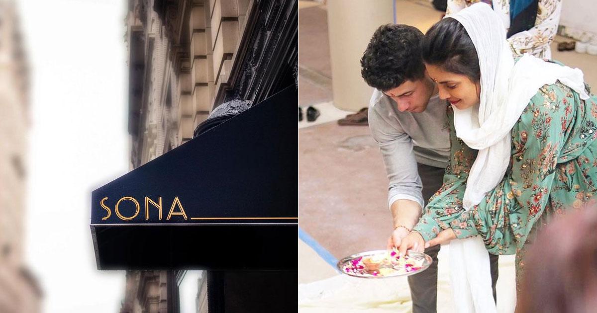 Priyanka Chopra opens Indian restaurant Sona in New York