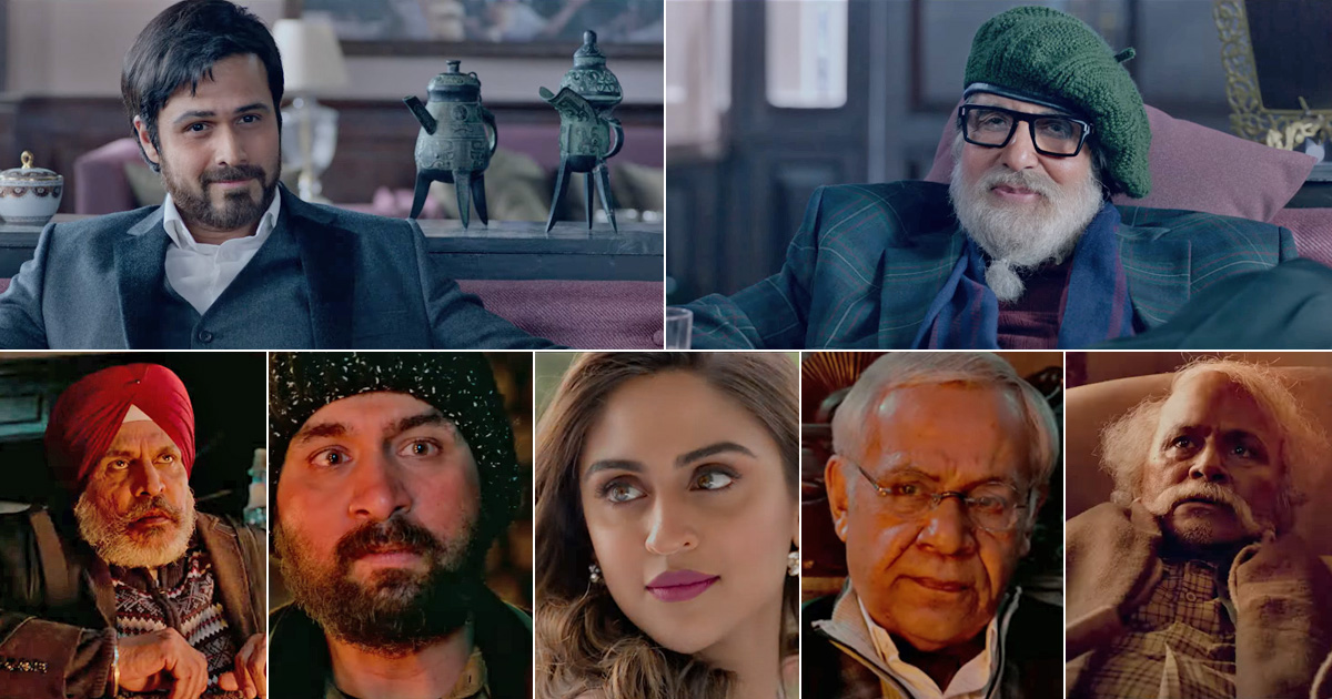 Producer Anand Pandit releases the fascinating trailer of his most-expected mystery thriller film Chehre | Film to release on April 9th, 2021