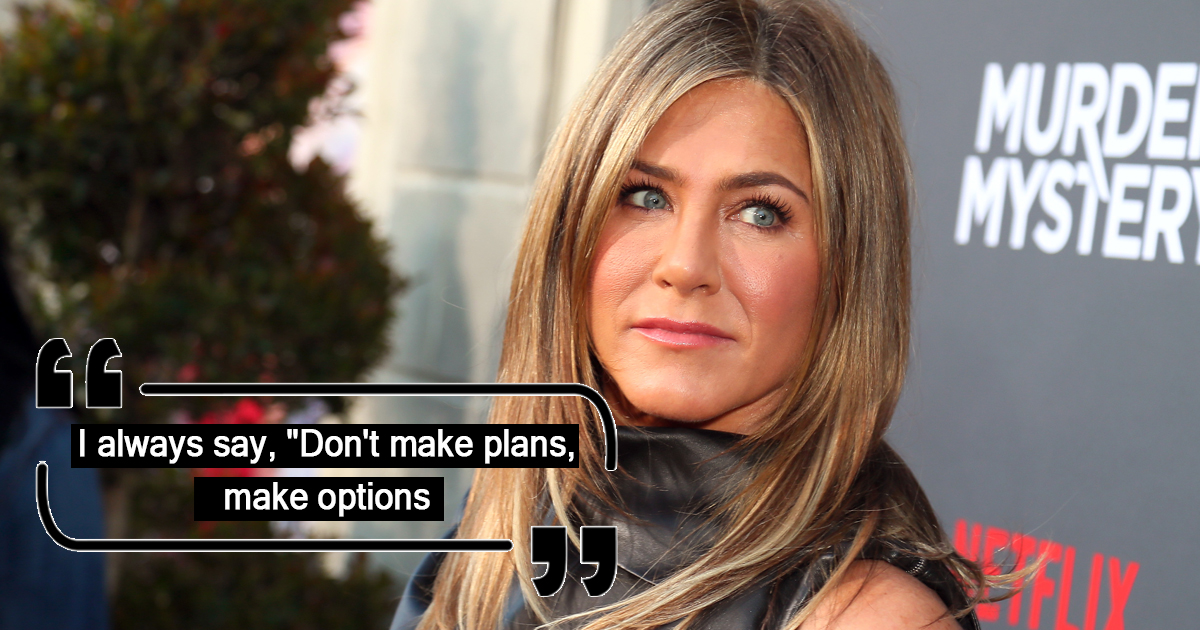 These Quotes By Jennifer Aniston Will Motivate You To Live Life On Your Terms