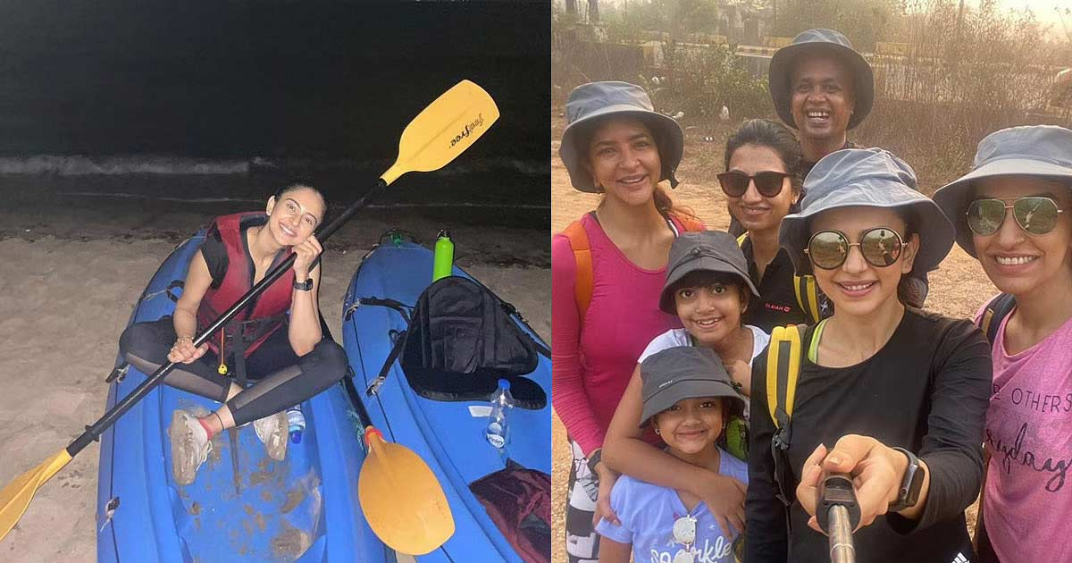Rakul Preet Shares Photos Of Holi Weekend In Goa