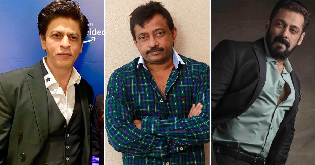 Ram Gopal Varma Opens Up On Why He Did Not Cast Shah Rukh Khan Or Salman Khan In Gangster Films