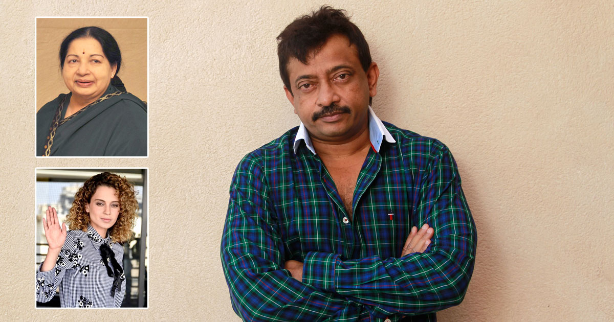 """Ram Gopal Varma Thinks No Other Actress In The World Is As Versatile As Kangana Ranaut, Says """"Jayalalithaa Will Be Thrilled In Heaven,"""" Read On"""