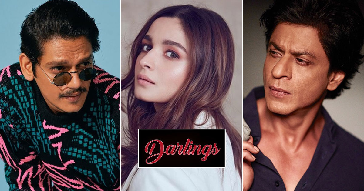 Darlings: Alia Bhatt & Vijay Varma Collaborate For A Dark Comedy, Shah Rukh Khan To Share A Special Role With Alia