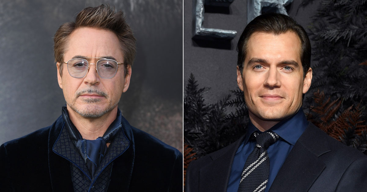 Robert Downey Jr Wishes To Collaborate With Henry Cavill?