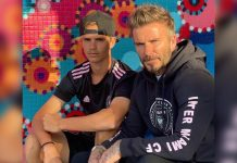 ROMEO BECKHAM TRAINS WITH DAD DAVID'S SOCCER TEAM IN BID TO BECOME PRO PLAYER