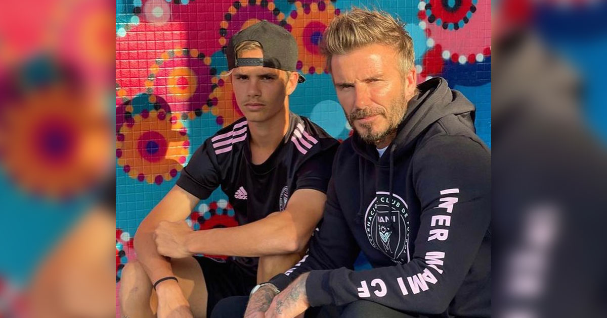 Romeo Beckham Trains With Dad David Beckham's Soccer Team In Bid To Become Pro Player, Read On