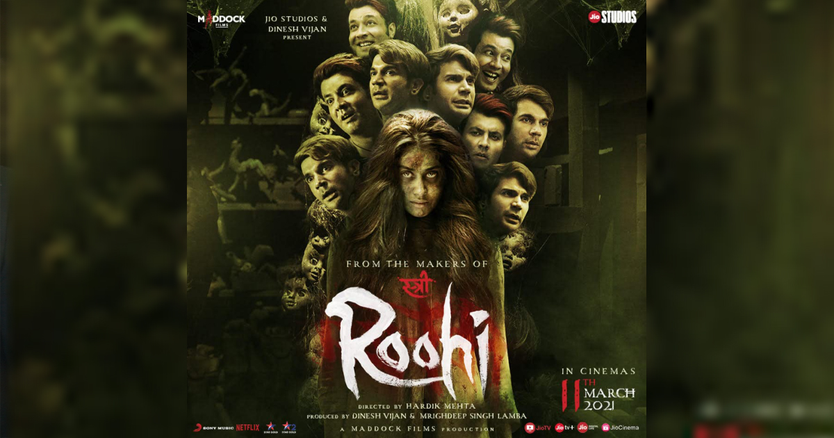 Janhvi Kapoor Led Roohi Will Hit Cinemas In A Matter Of 1 Day Now!
