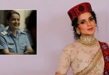 RSVP Movies wishes Kangana Ranaut on the occasion of her birthday by unveiling an all new look from her next, TEJAS