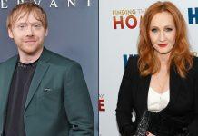 Rupert Grint slams JK Rowling's comment on transgenders