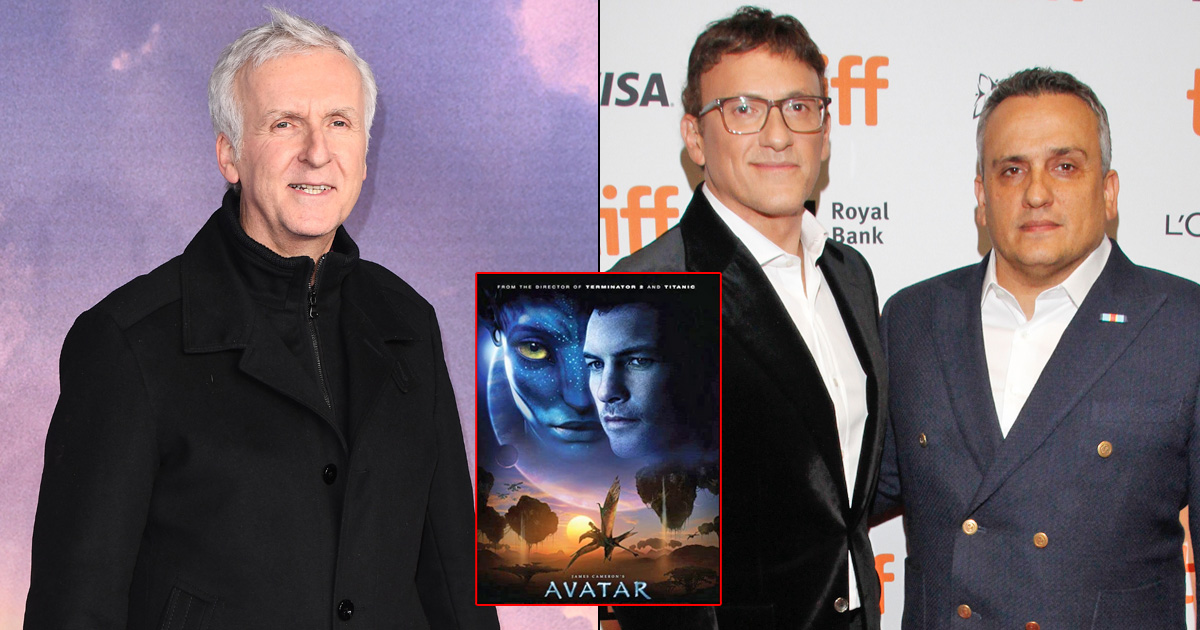 RUSSO BROTHERS HONOUR JAMES CAMERON AS AVATAR RECLAIMS COVETED BOX OFFICE TITLE