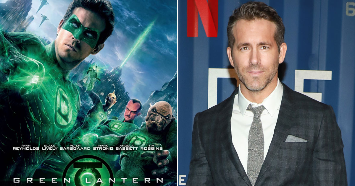 RYAN REYNOLDS CELEBRATES ST. PATRICK'S DAY BY WATCHING THE GREEN LANTERN FOR THE FIRST TIME