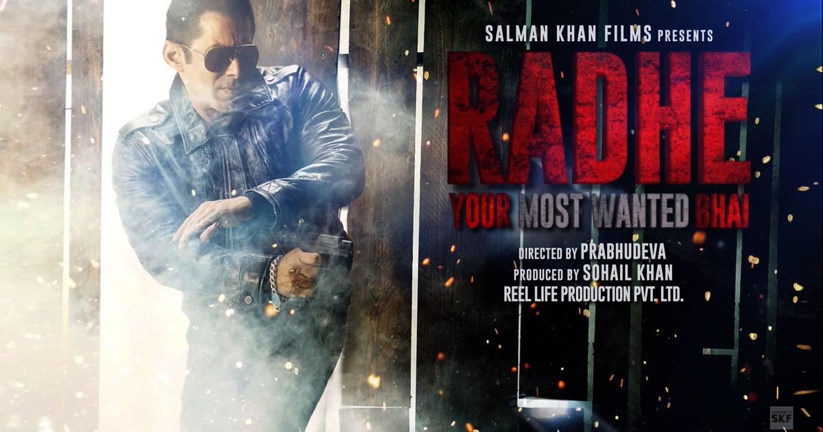 Salman Khan's Radhe Gets A Mega Deal