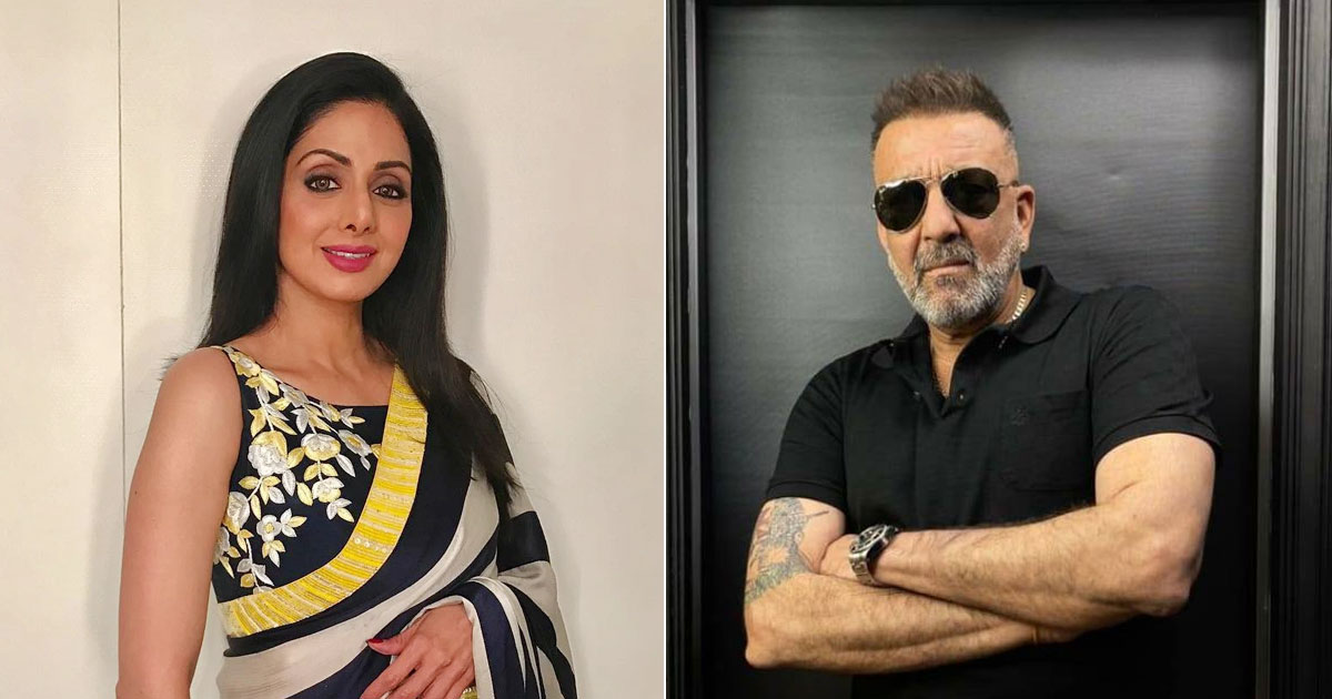 Sanjay Dutt Had Once Barged Into Sridevi's Makeup Room In A Drunken State