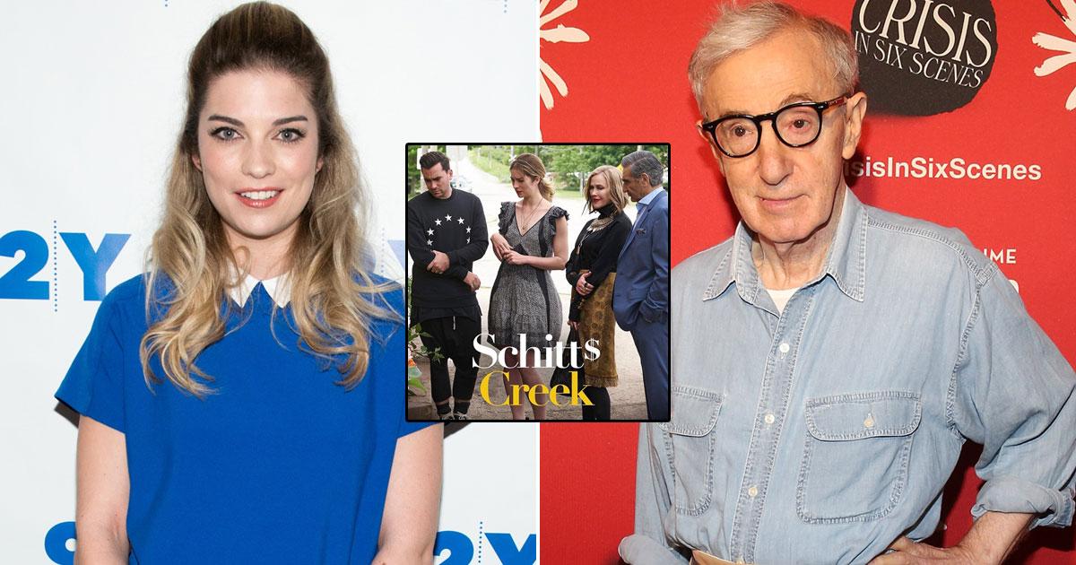 'Schitt's Creek' star Annie Murphy wants Woody Allen in jail
