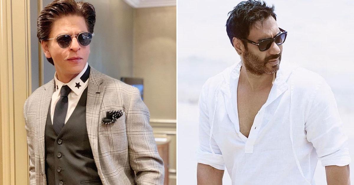 Shah Rukh Khan Joins Ajay Devgn's Vimal Ad & Netizens Rolls Out Hilarious Memes On Twitter