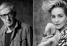 SHARON STONE DEFENDS DECISION TO WORK WITH WOODY ALLEN