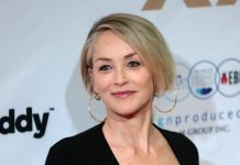 SHARON STONE GETS FIRST COVID-19 VACCINE AFTER RELATIVES' DEATHS