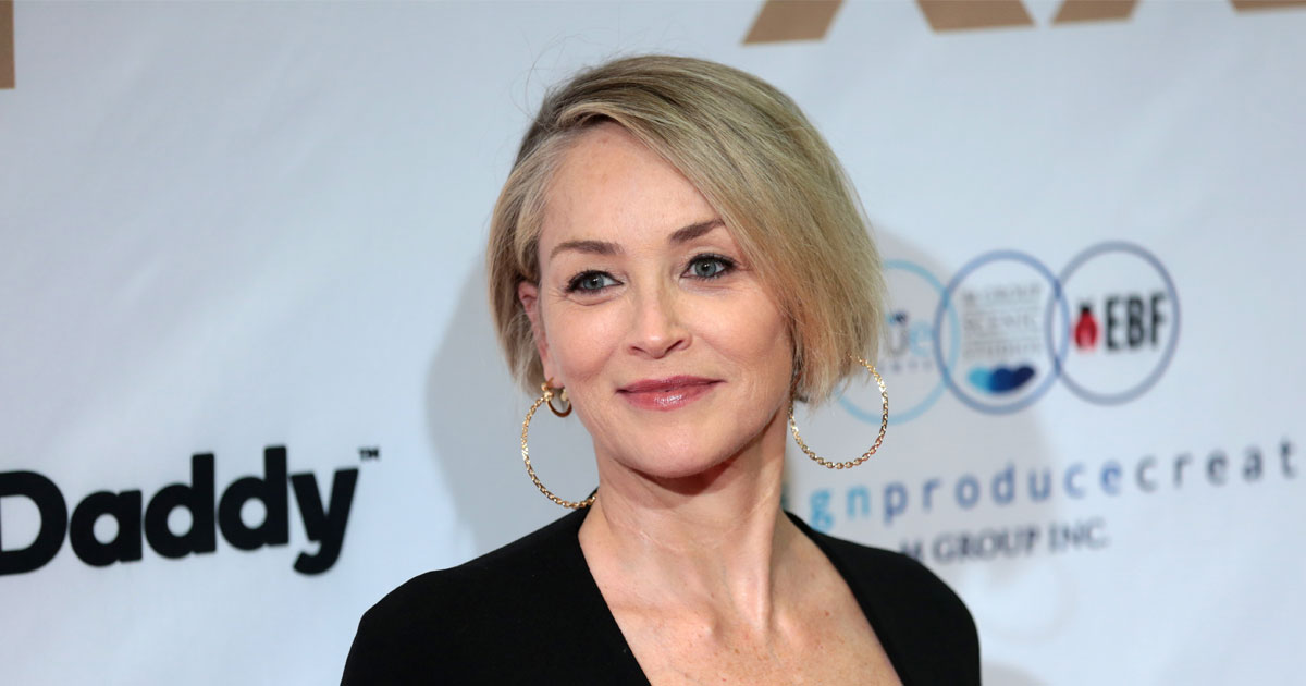 Sharon Stone Gets First COVID-19 Vaccine After Her Grandmother & Godmother Lost Their Lives To The Virus