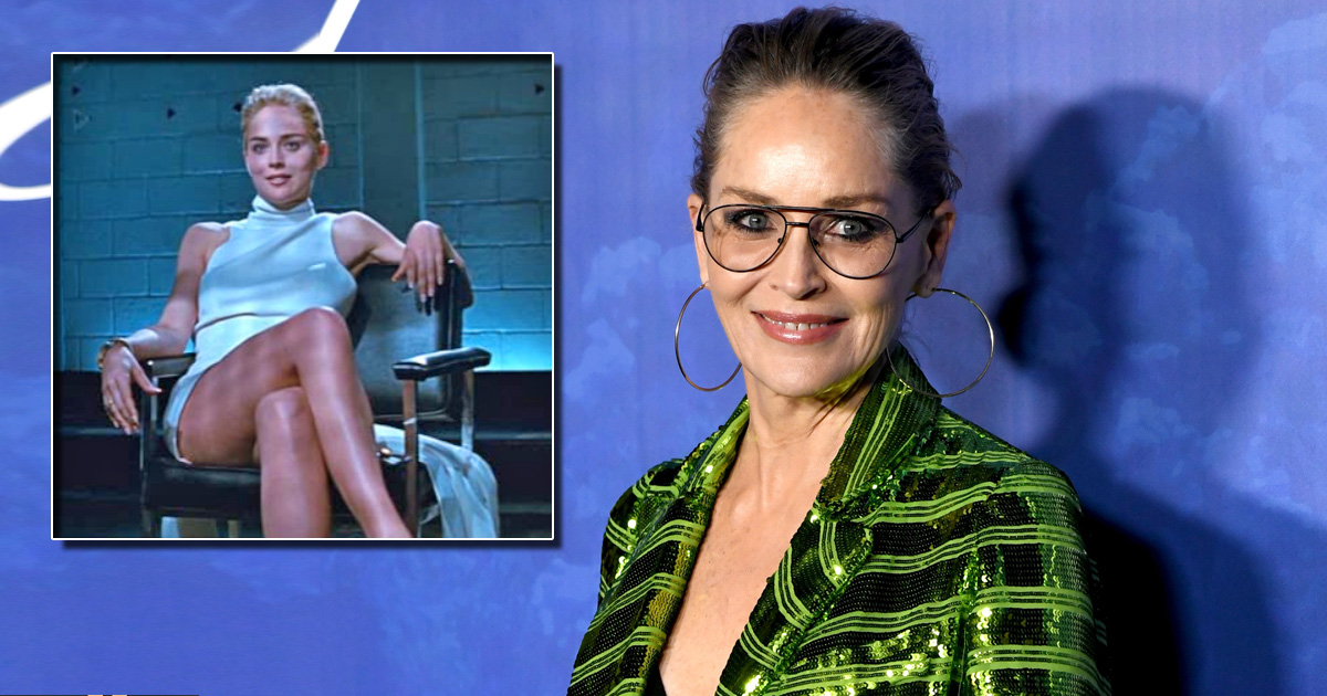 Sharon Stone Opens Up About The First Time She Saw Basic Instinct; Says It Was It Was In A Room Full Of Agents & Lawyers