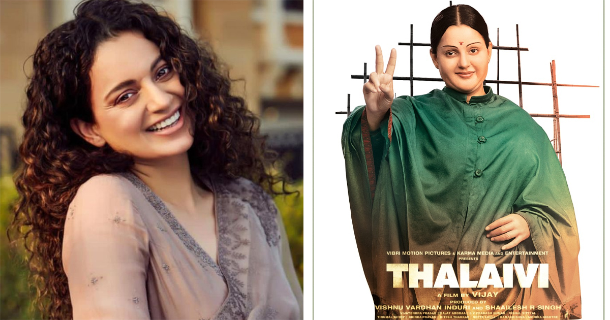 Kangana Ranaut Fans Celebrate As 'Thalaivi' Trailer Be Revealed On The Actor's Birthday!