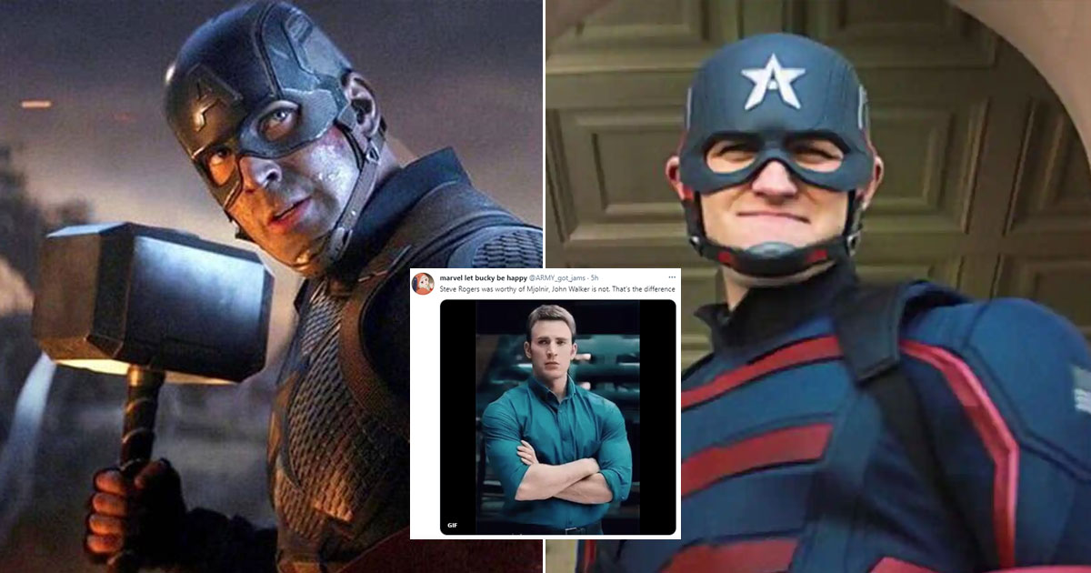 """The Falcon And The Winter Soldier: Wyatt Russell's Captain America Faces Huge Backlash As Netizens Say, """"Steve Rogers Was Worthy Of Mjolnir, Walker Is Not..."""" Read On"""