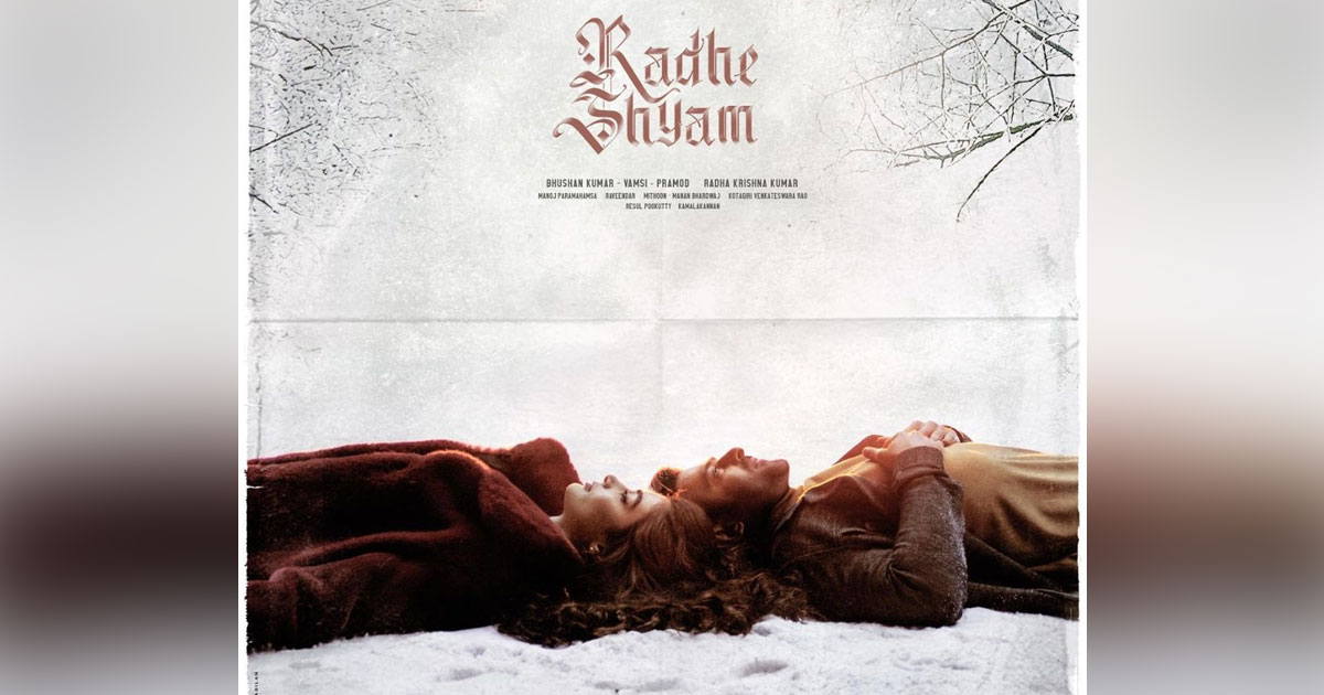 The makers of Radhe Shyam set the mood romantic with this latest poster