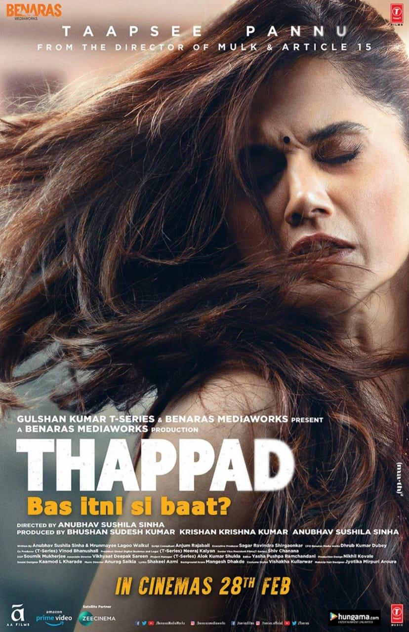 Thappad Poster