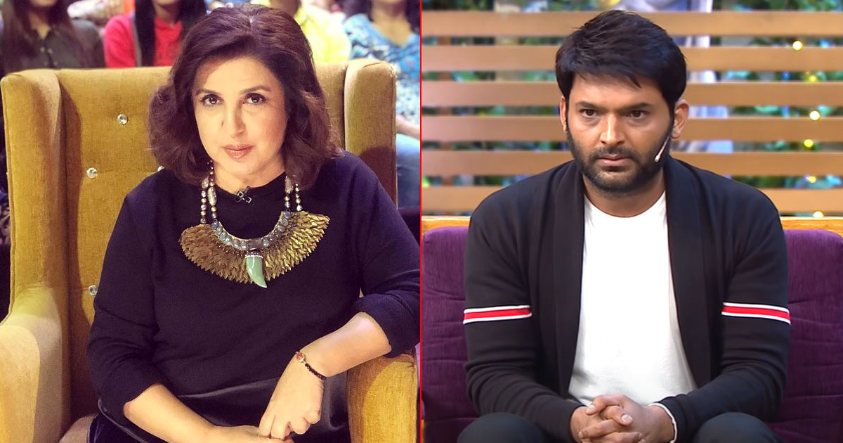 Throwback To The Time When Farah Khan Called Kapil Sharma' Mannerless People'
