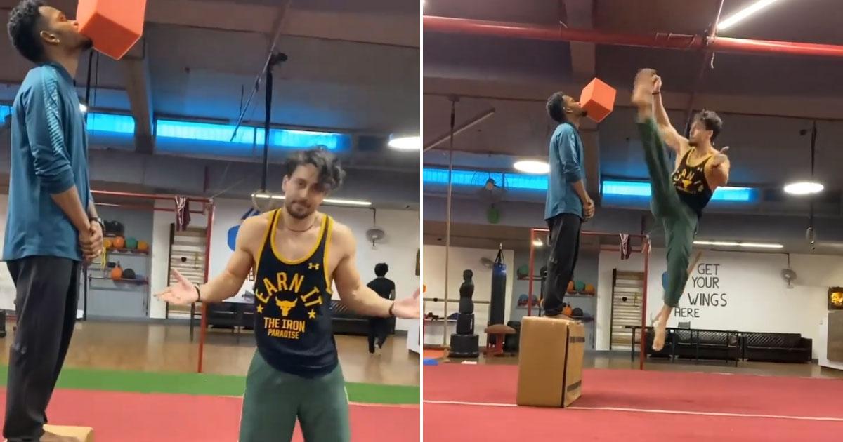 Tiger Shroff redefines trust with new stunt