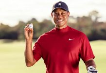 TIGER WOODS OUT OF HOSPITAL AND BACK HOME THREE WEEKS AFTER HORROR CRASH
