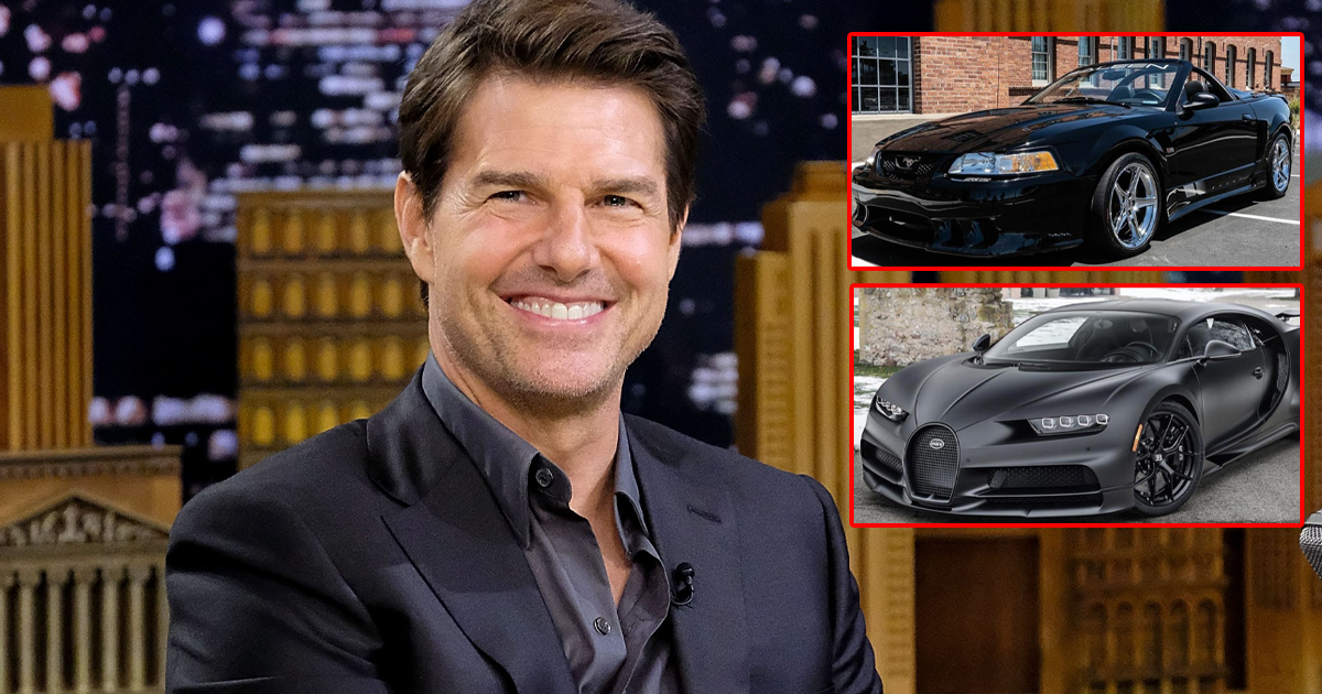 From Ford Mustang Saleen To Bugatti Veyron: Tom Cruise Has A Distinct Taste In Luxury Cars