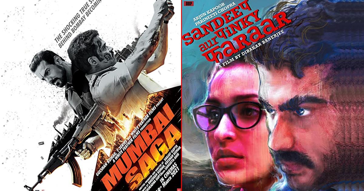 Two Bollywood Films Are Hitting The Cinemas This Weekend, Mumbai Saga & Sandeep Aur Pinky Faraar