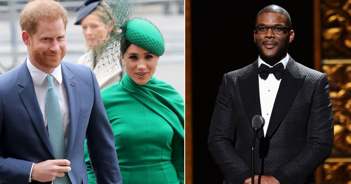 Tyler Perry Paid For Harry And Meghan's Security After Royal Family Fallout