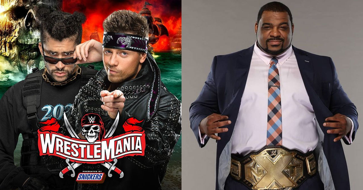 Update On Wrestlemania 37 & Keith Lee's Absence