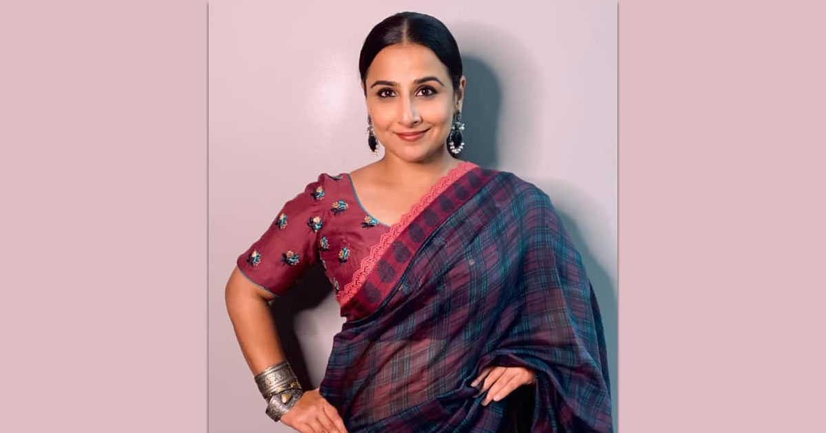 Vidya Balan On Time When Her Weight Became A 'National Issue'