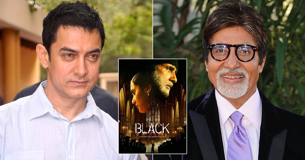 When Aamir Khan & Amitabh Bachchan Had A War Of Words Over Black