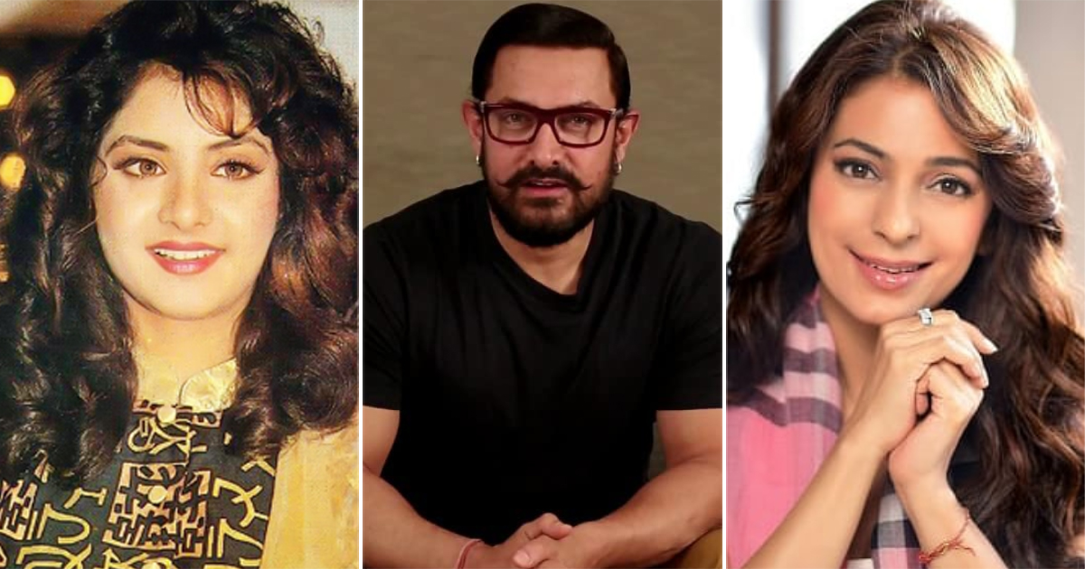Aamir Khan Got Divya Bharti Replaced By Juhi Chawla In Darr For This Reason