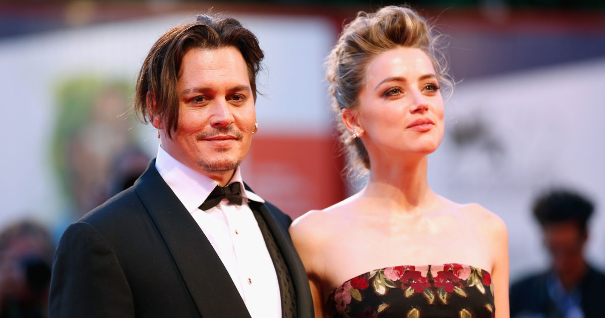 When Amber Heard & Johnny Depp Made A Smashing Entry At Venice Film Festival & Shared A Passionate Kiss On The Red Carpet, Read On