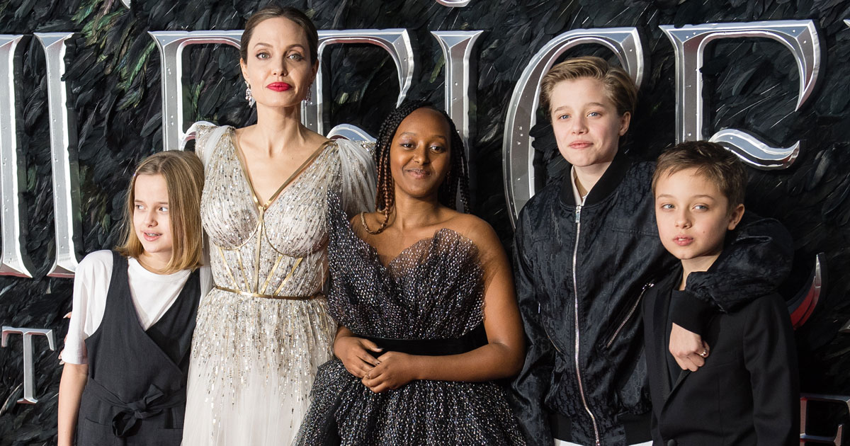 When Angelina Jolie & Her Kids Were Termed As The Neighbours From Hell
