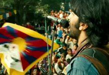 When Blurring Free Tibet Flag In Saadda Haq From Rockstar Left Tibetan's Upset