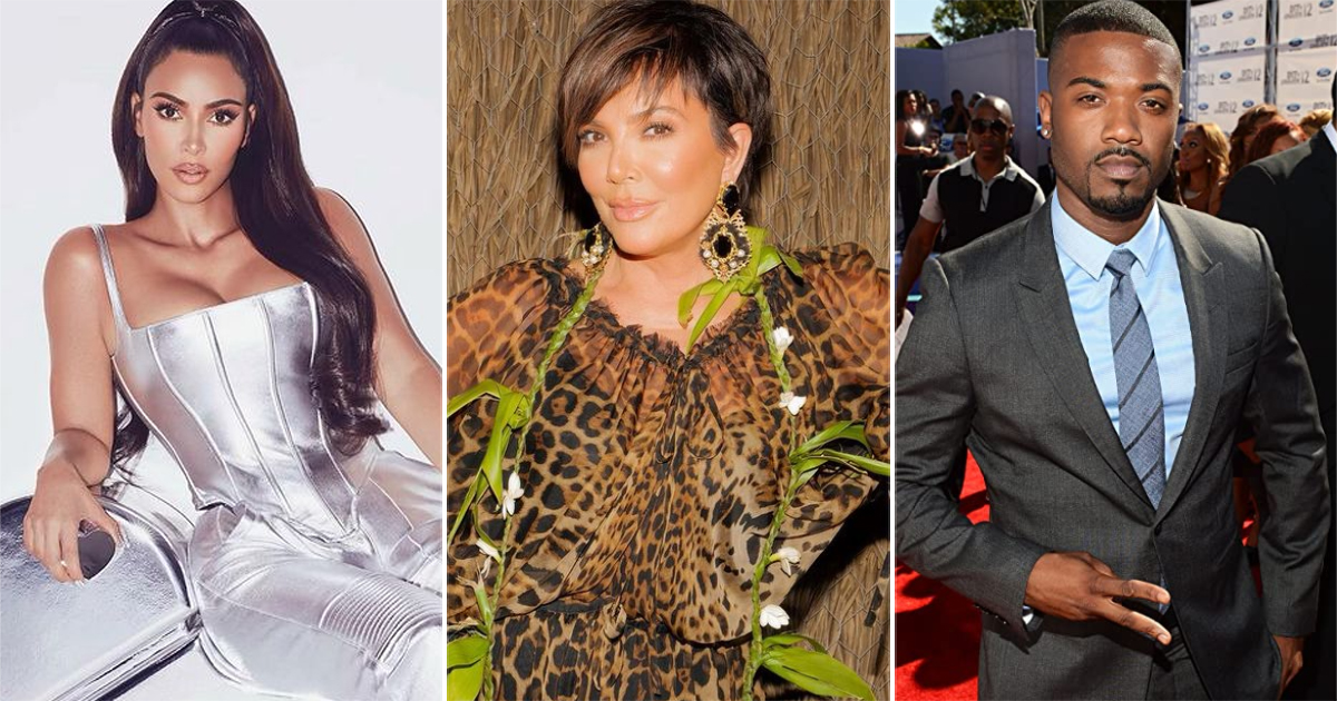 Kim Kardashian's Mother Kris Jenner Was The One Who Leaked Her S*x Tape With Former Boyfriend Ray J
