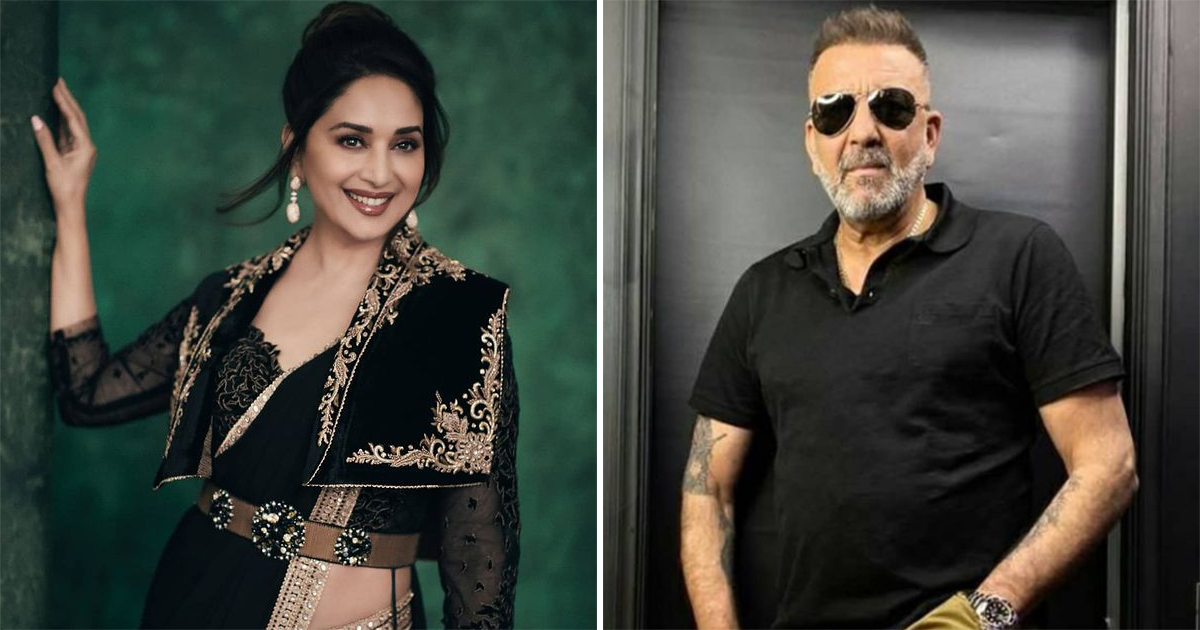 Here's Why Sanjay Dutt's First Wife's Sister Called Madhuri Dixit Inhuman