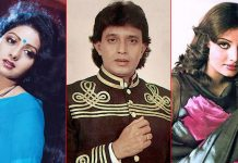 When Mithun Chakraborty's Wife Yogeeta Bali Attempted Suicide After His Marriage With Sridevi, Check Out