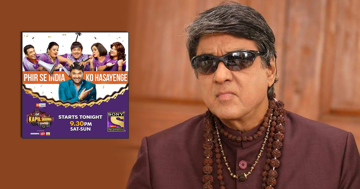 When Mukesh Khanna Rejected Invitation To The Kapil Sharma Show, Calling It 'Vulgar,' Check Out